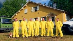 Membres de notre équipe de professionnels au siège social d'Arlos
