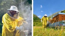 M. Margalef se consacre à l'apiculture depuis plus de 30 ans